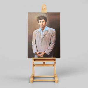 Kramer Painting Framed Canvas Print