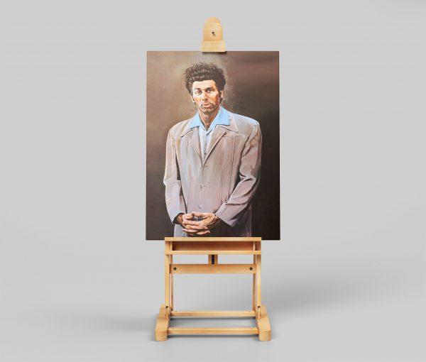 Kramer Painting Framed Canvas Print